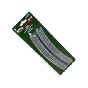Kato 20-130 Ground Level 348mm radius curve, 30 degrees (x4)